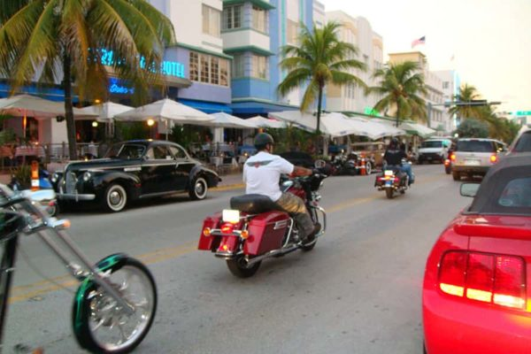 Harley rental in Miami