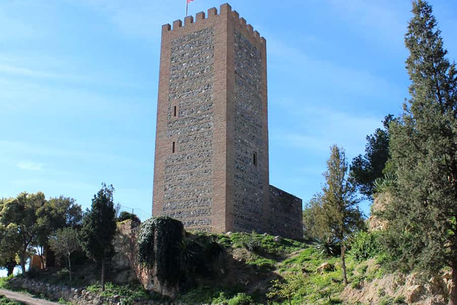 The fortress castle of Vélez-Málaga