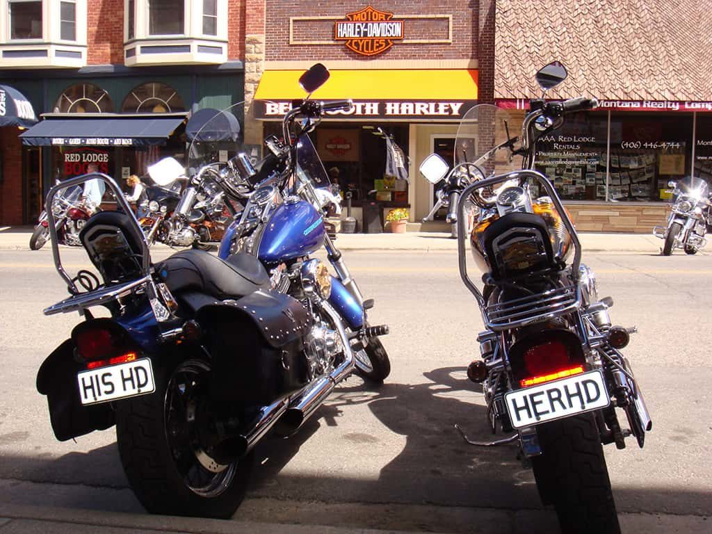 His Harley and Her Harley