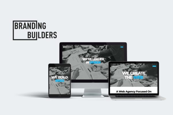 New Branding Builders website